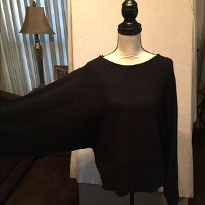 Tops - Black batwing sweater